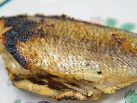 タカノハダイの塩焼き