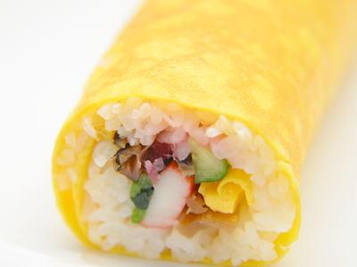 卵巻き寿司(黄金巻き)