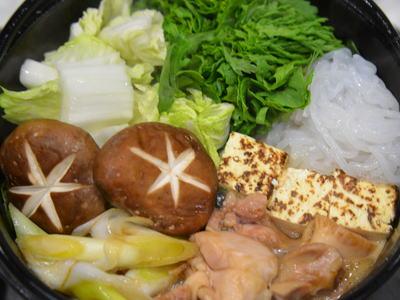 鶏すき(かしわの引き摺り)