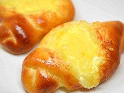 ダブルチーズパン