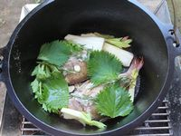鯛の香味焼き