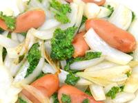 パセリの炒め物