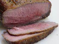 ダッチオーブンで燻製ローストビーフ