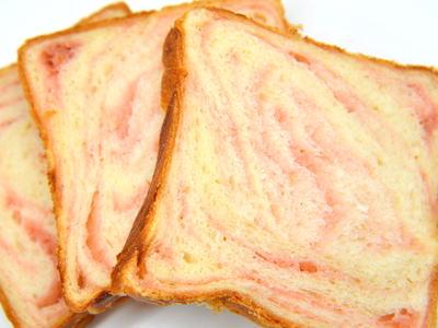 桜マーブル食パン