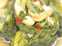 山東菜の炒め煮
