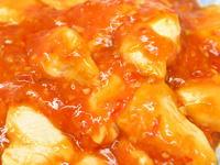 鶏むね肉のチリソース炒め