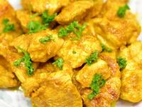 鶏むね肉のカレー炒め