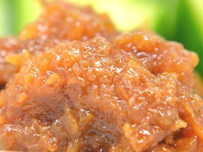 ウド味噌の燻製