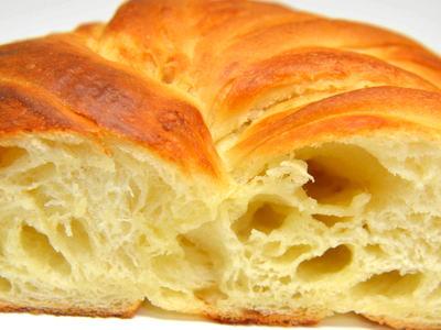 チーズフォンデュの折込パン
