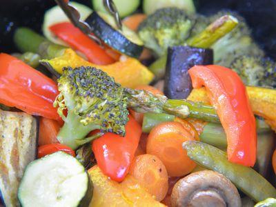 野菜の蒸し焼き(温野菜のサラダ)
