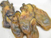 牡蠣のジャーキー風燻製