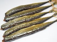 秋刀魚の温燻製