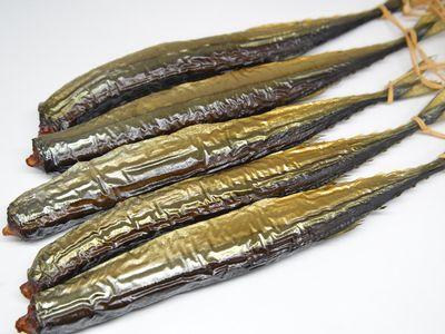 秋刀魚の燻製