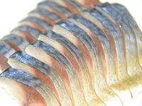 しめ鯖の燻製