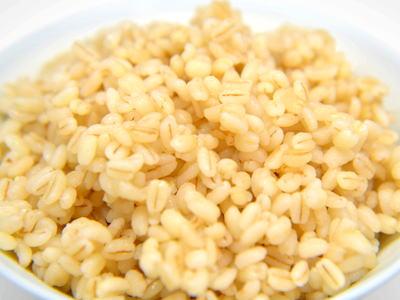 炊飯器で茹でもち麦