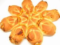 ピザ風味の結晶パン