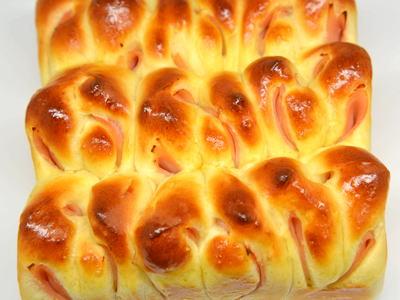 ハムロールちぎりパン