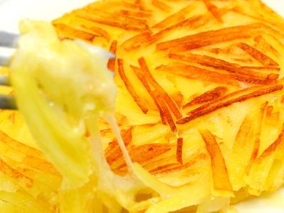 切り餅とジャガイモのガレット