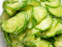 サラダ感覚で食べれる、きゅうりの揉み粕漬け