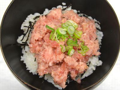 燻製ネギトロ丼