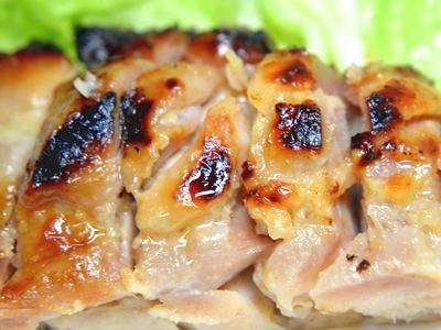 鶏モモ肉の粕漬け