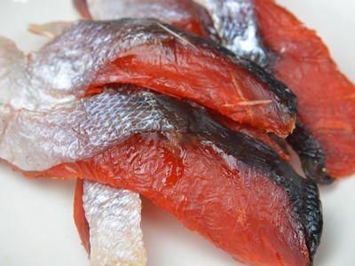 簡単な作り方 鮭とば