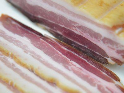 粕漬 味噌ベーコン(燻製)