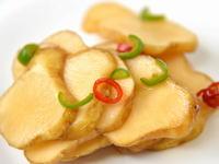 菊芋の唐辛子漬け