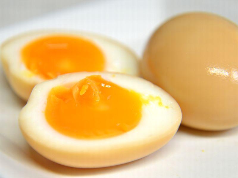 燻製たまご・煮卵燻製
