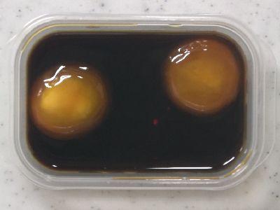 燻製醤油に20時間漬けた卵黄。